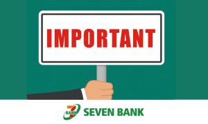 Message from Seven Bank