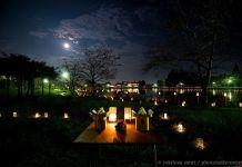 Celebración del jyugoya (十五夜, mirar la luna)
