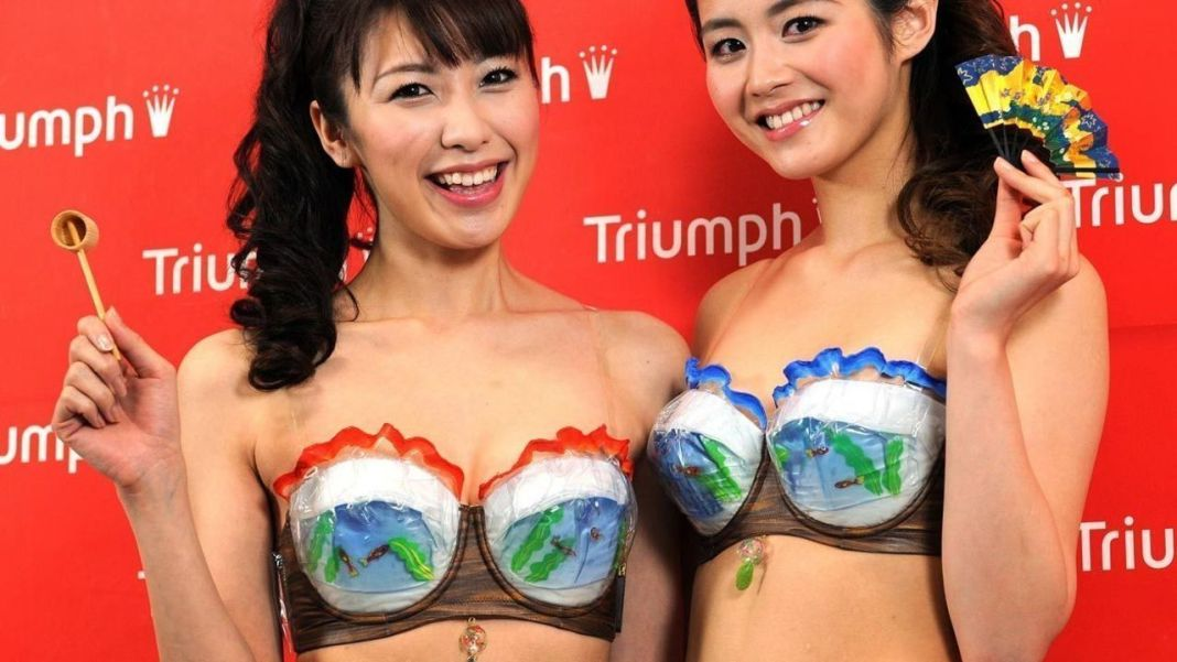 Super Cool Bra sujetador friki sexy japonés