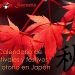 Viajar a Japón en otoño. Festivales y días festivos