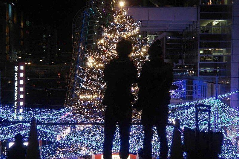 Nochebuena en Japón: una noche romántica