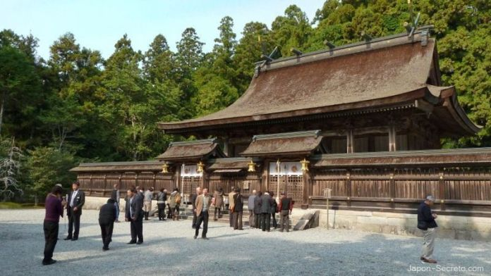 Santuario Kumano Hongu Taisha. Camino de Kumano o Kumano Kodo (prefectura de Wakayama)
