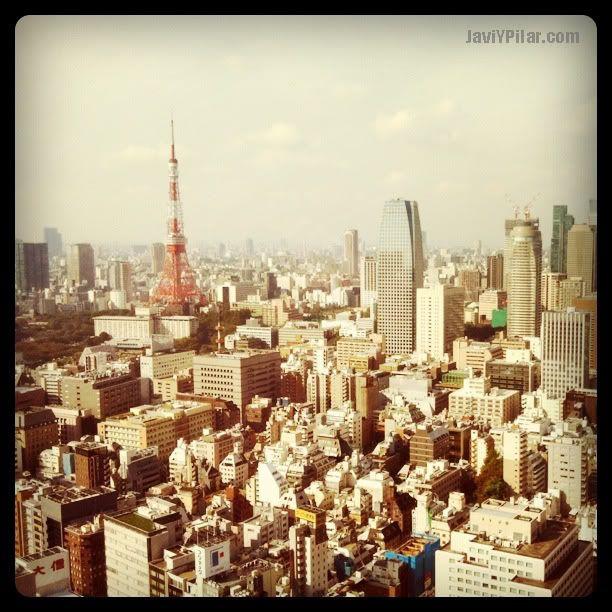 Vistas de la Tokyo Tower desde la habitación