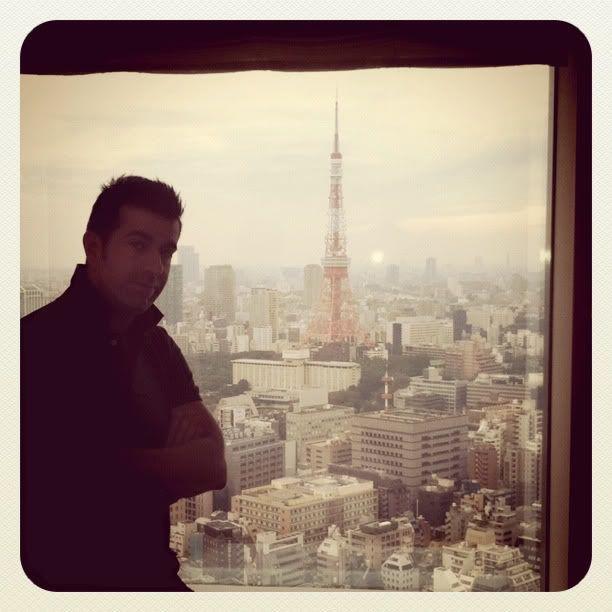 Vistas de la Torre de Tokio desde la habitación