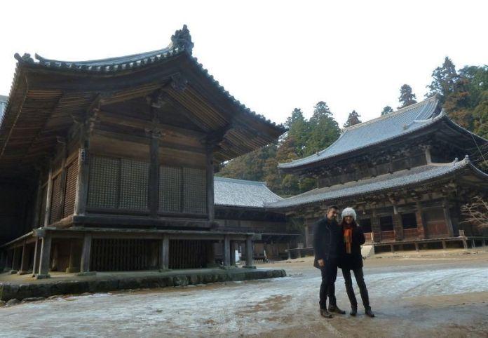 Monte Shosha: Mitsunodō (三之堂) o Patio de Engyōji (円教寺境内)
