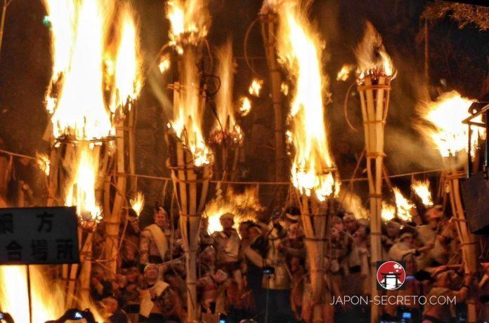 Festivales de Japón: el Kurama No Hi Matsuri (鞍馬の火祭) o Fiesta del Fuego de Kurama (Kioto)