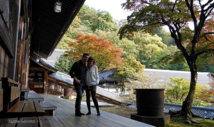 Japón secreto. Templo oculto. Eihei-ji, un templo secreto del budismo zen oculto cerca de Fukui (Japón)
