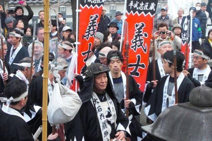 Festivales de Japón: el Akō Gishi Sai(赤穂義士祭) en el templo Sengakuji de Tokio, en memoria de los 47 ronin