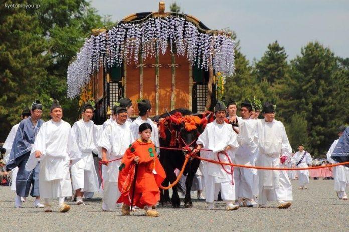 Festivales de Japón: el Aoi Matsuri (葵祭) o Festival de la Malva Real con su impresionante procesión de la nobleza estilo Heian