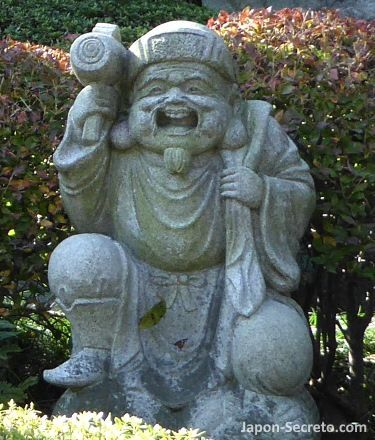 Los siete dioses de la felicidad (七福神): 大黒天 (Daikokuten o Daikoku)