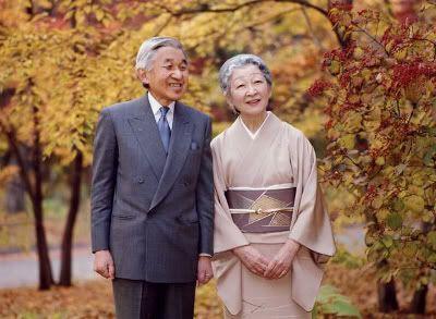 Akihito y Michiko, emperadores de Japón