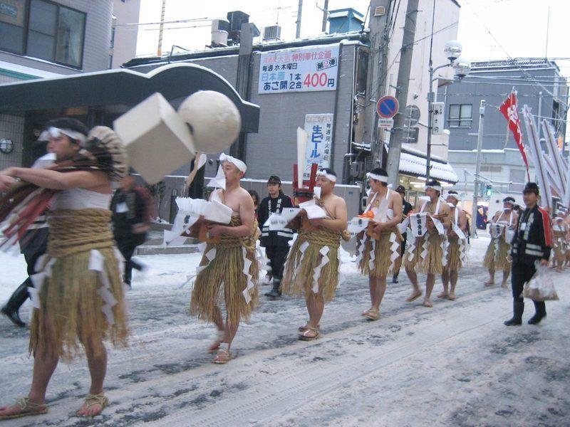Hadaka Mairi de Morioka @ Morioka (diversas ubicaciones) | Morioka-shi | Iwate-ken | Japón