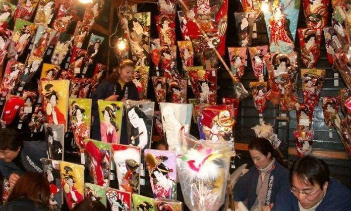 Feria Hagoita-Ichi @ Taitō-ku | Tōkyō-to | Japón