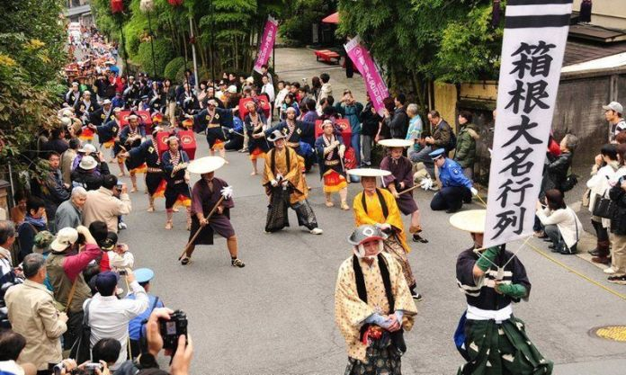 Daimyō Gyōretsu (大名行列) o Desfiles de los Señores Feudales en Hakone (Kanagawa)