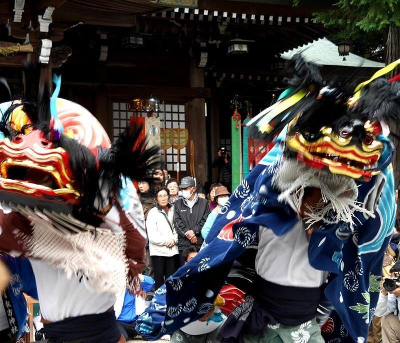 Hinoki No Shishimai (o Meotojishi) @ Naruto | Naruto-shi | Tokushima-ken | Japón