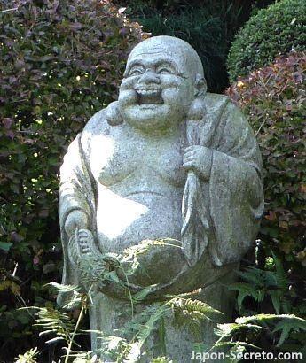 Los siete dioses de la felicidad (七福神): 布袋尊 (Hotei)