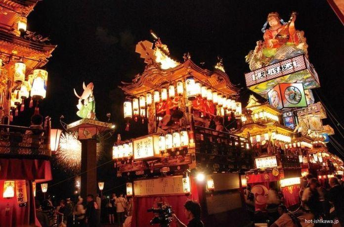 Festivales de Japón: el impresionante Iidamachi Toroyama Matsuri de Suzu (Ishikawa) celebrado en julio