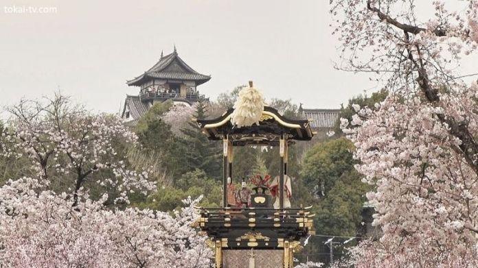 Festivales de Japón en abril: Inuyama Matsuri. Sakura. Cerezos. Hanami. Viajar