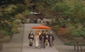 "Boda shinto en Kioto. ""Lost in Translation"" (Sofia Coppola, 2003)"