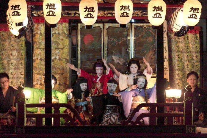 Festivales de Japón: Maibara Hikiyama Matsuri (米原曳山祭)