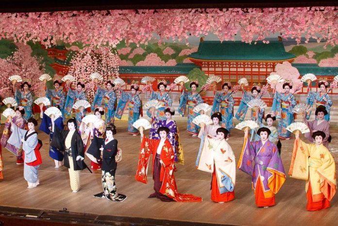 Festival de geishas Miyako Odori (Kioto)