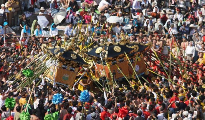 Festivales de Japón: el Nada No Kenka Matsuri(灘のけんか祭り) o