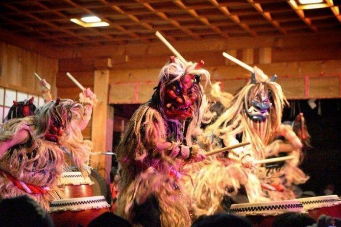 Festivales de Japón: Namahage Sedo Matsuri de febrero, en Oga (prefectura de Akita)