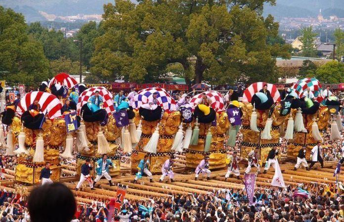 Festivales de Japón: el Niihama Taiko Matsuri (新居浜太鼓祭り) o