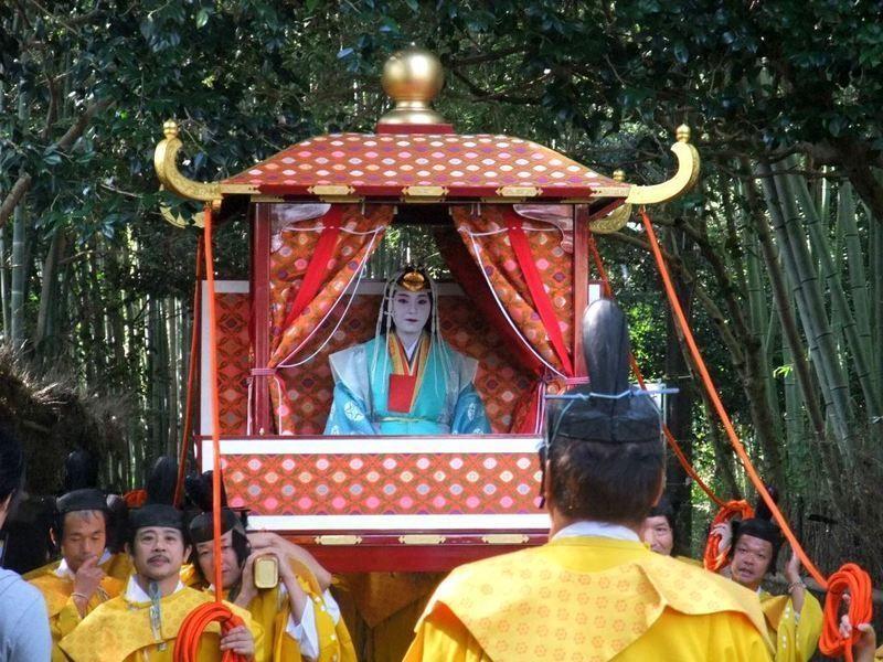 Saigu Gyoretsu @ Santuario Nonomiya | Kyōto-shi | Kyōto-fu | Japón