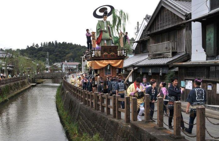 Festivales de Japón: el Sawara No Taisai Aki Matsuri (佐原の大祭 秋祭り)