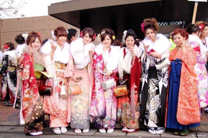 Festivos de Japón: el Día de la Mayoría de Edad (成人の日, leídoSeijin No Hi), el segundo lunes de enero