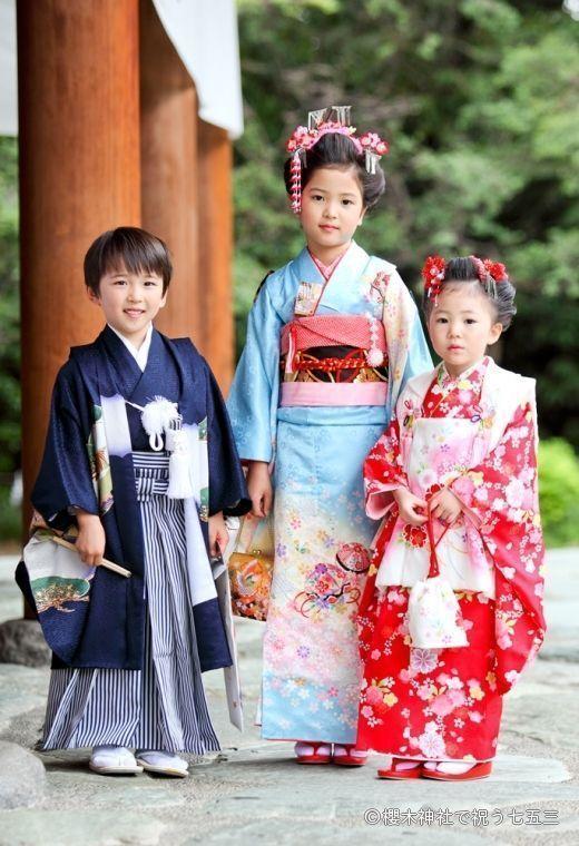 La celebración japonesa de los niños de siete, cinco y tres años: el Shichi-Go-San(七五三)