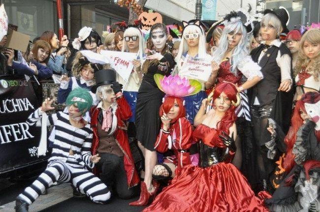 Halloween en Tokio: Shinjuku