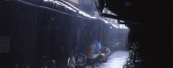 Época de lluvias en Japón