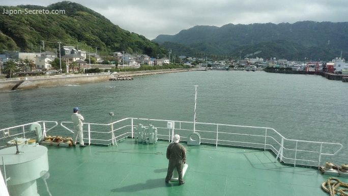 Llegando a Nokogiri (Japón)