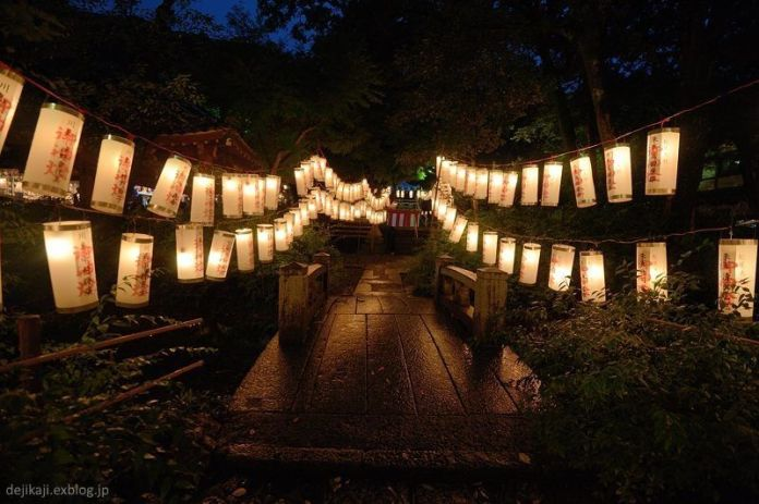 "Festivales de Japón: el Hassaku Sai (八朔祭) un festival celebrado en septiembre en elsantuario Matsunō Taisha (松尾大社),también llamado ""Matsuo Taisha"" de Kioto"