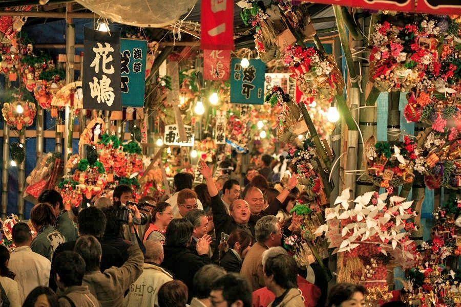 Feria Tori No Ichi @ Santuario Otori | Taitō-ku | Tōkyō-to | Japón