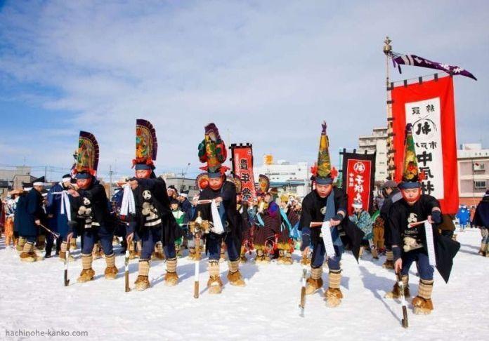 Festivales de Japón: el Hachinohe Enburi (八戸えんぶり o 八戸朳)