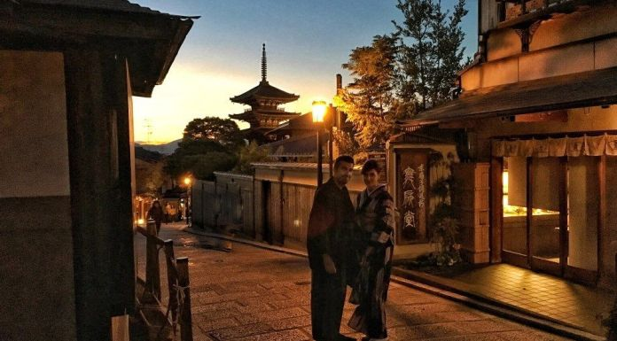 Cómo alquilar un kimono en Kioto para pasear