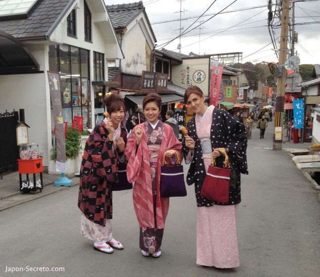 Cómo alquilar un kimono para pasear por Kioto