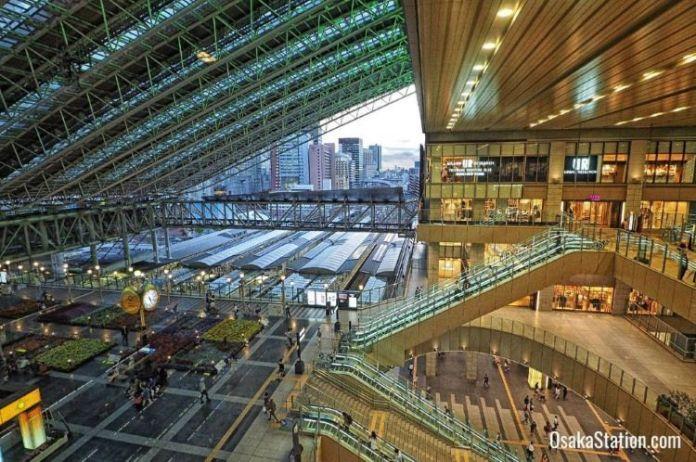 Viajar a Osaka: Estación de Osaka