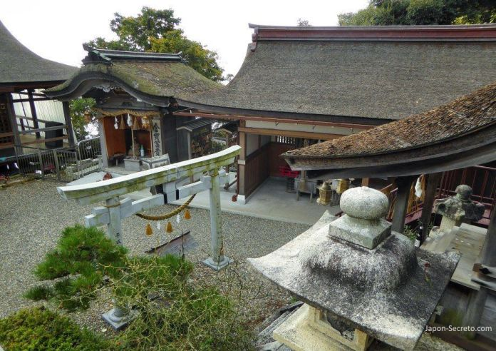 Excursiones desde Kioto: descubriendo la isla de Chikubu, en el lago Biwa. Santuario Tsukubusuma (都久夫須麻神社).