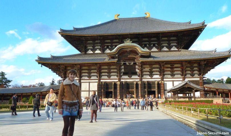 Viajar a Japón: excursión a Nara. Templo Todai-ji.
