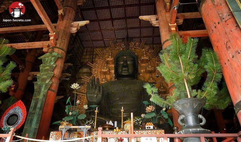 Festival Setsubun en el templo Todaiji de Nara