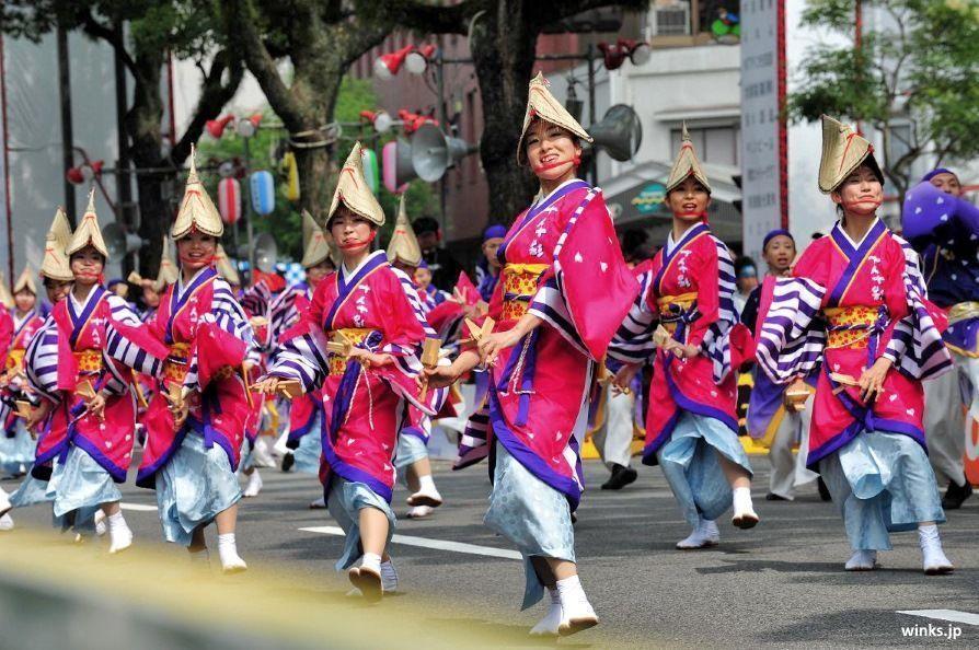 Yosakoi Matsuri @ Kōchi | Kochi | Kōchi Prefecture | Japón