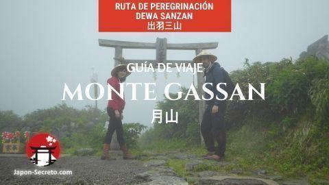 Ruta por las Tres Montañas de Dewa (Dewa Sanzan): guía de viaje al monte Gassan. Senderismo por Japón