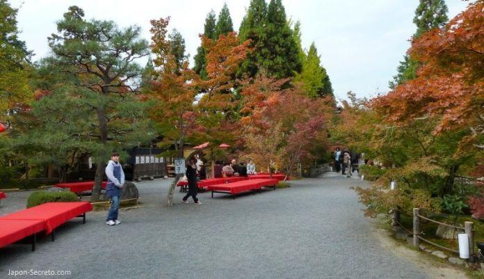 Templo Eikandō (永観堂) en Kioto durante el momiji (otoño) en Japón