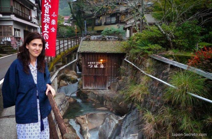 Onsen Tsuboyu, en el Camino de Kumano, Yunomine Onsen (Wakayama, Japón), Patrimonio de la Humanidad (octubre de 2009)