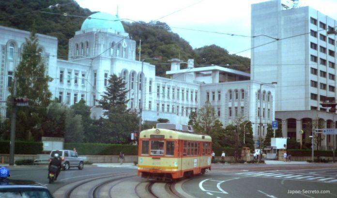 Tranvía de Matsuyama (Ehime, Shikoku).