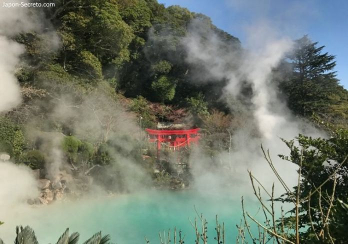 Baños en Japón. Onsen. Infiernos de Beppu (Kyushu)